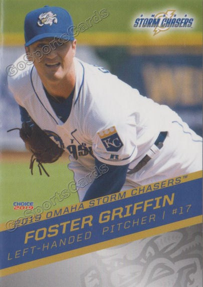 2019 Omaha Storm Chasers Foster Griffin