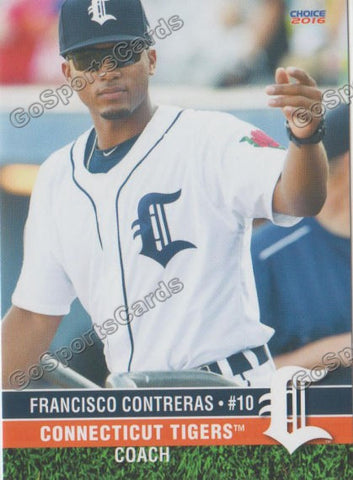2016 Connecticut Tigers Francisco Contreras