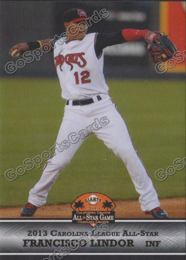 2013 Carolina League All Star Francisco Lindor