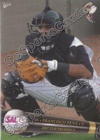 2007 South Atlantic League Top Prospects Francisco Pena