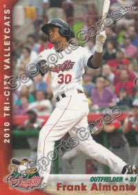 2010 Tri City ValleyCats Frank Almonte