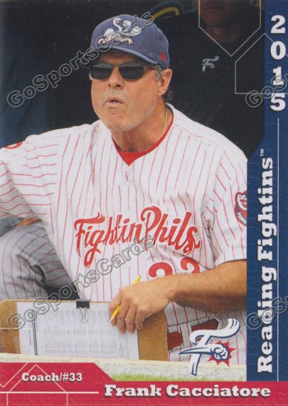 2015 Reading Fightin Phils Update Frank Cacciatore