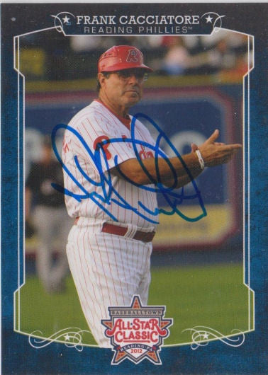 Frank Cacciatore 2012 Eastern League All Star (Autograph)