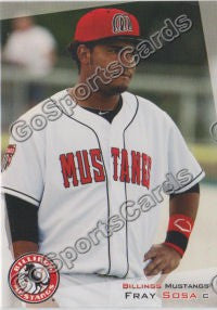 2012 Billings Mustangs Fray Sosa