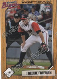 2010 Gwinnett Braves Team Set
