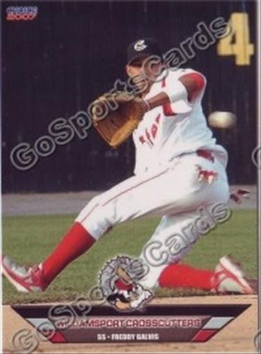 2007 Williamsport Crosscutters Team Set