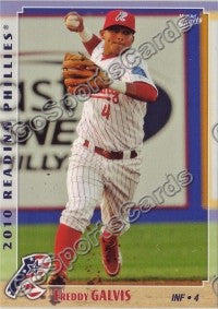 2010 Reading Phillies Freddy Galvis