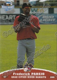 2009 Quad Cities River Bandits Frederick Parejo