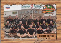 2011 Long Island Ducks Front Office Staff