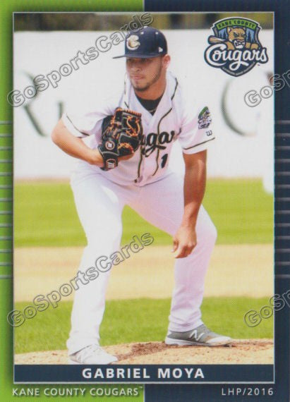 2016 Kane County Cougars Team Set