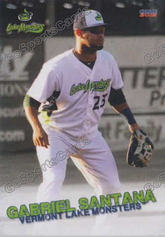 2015 Vermont Lake Monsters Gabriel Santana