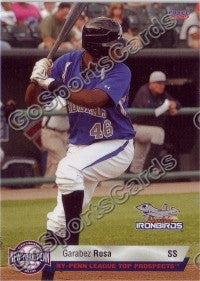 2009 New York Penn League Top Prospects Garabez Rosa