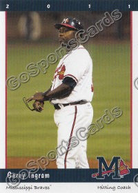 2011 Mississippi Braves Garey Ingram
