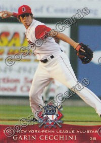 2011 New York Penn League All Star NYPL Garin Cecchini