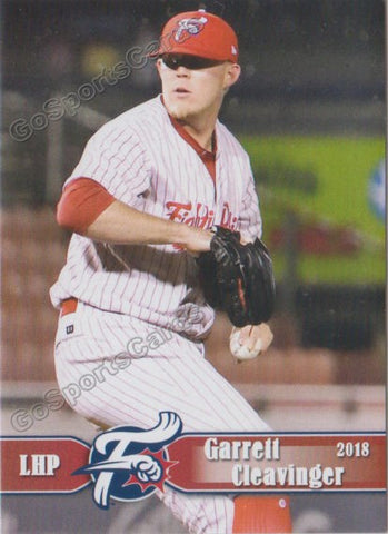 2018 Reading Fightin Phils Garrett Cleavinger