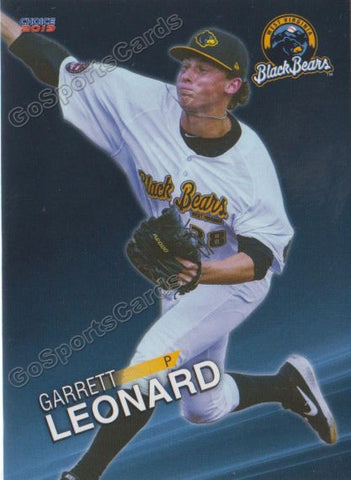 2019 West Virginia Black Bears Garrett Leonard