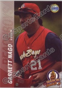 2006 Waikiki Beachboys Hawaii League Garrett Nago