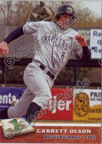 2007 Beloit Snappers Garrett Olson