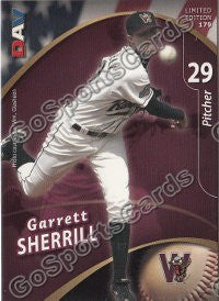 2009 Wisconsin Timber Rattlers DAV Garrett Sherrill