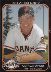 2010 San Jose Giants Gary Davenport