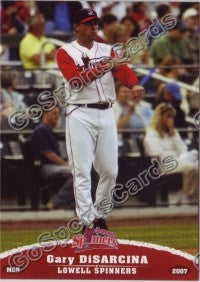 2007 Lowell Spinners Gary DiSarcina