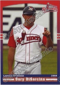 2008 Lowell Spinners Gary DiSarcina