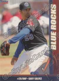 2006 Wilmington Blue Rocks Gary Galvez