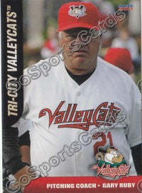 2011 Tri City Valley Cats Gary Ruby