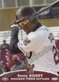 2008 Wisconsin Timber Rattlers Gavin Dickey