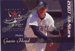 2007 International League All Star Choice Gavin Floyd