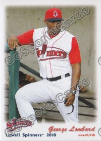 2010 Lowell Spinners George Lombard