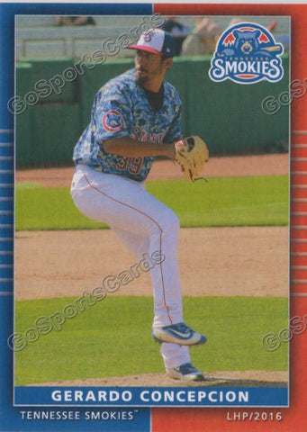 2016 Tennessee Smokies Team Set