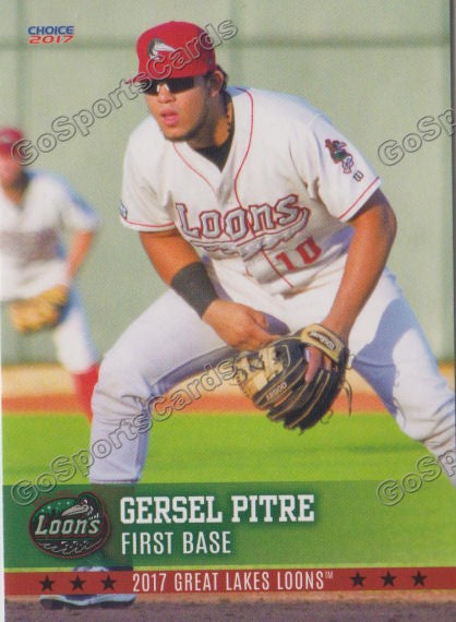 2017 Great Lakes Loons Gersel Pitre