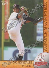 2005 Kannapolis Intimidators Team Set (Gio Gonzalez)