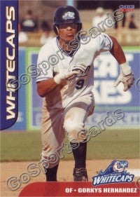 2007 West Michigan WhiteCaps Gorkys Hernandez