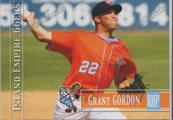 2014 Inland Empire 66ers Grant Gordon