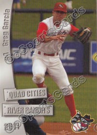 2011 Quad Cities River Bandits Greg Garcia