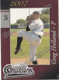 2007 Idaho Falls Chukars Greg Holland