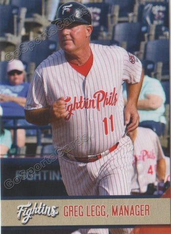 2018 Reading Fightin Phils Update Greg Legg