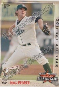 2011 South Atlantic League Southern All Star Greg Peavey