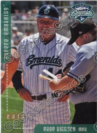 2010 Eugene Emeralds Greg Riddoch