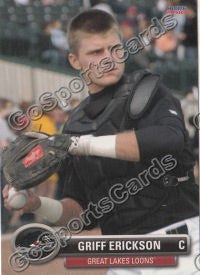 2010 Great Lakes Loons Griff Gorman Erickson