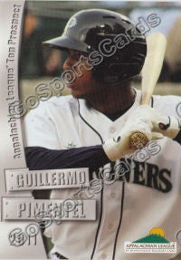 2011 Appalachian League Appy Top Prospects Guillermo Pimentel