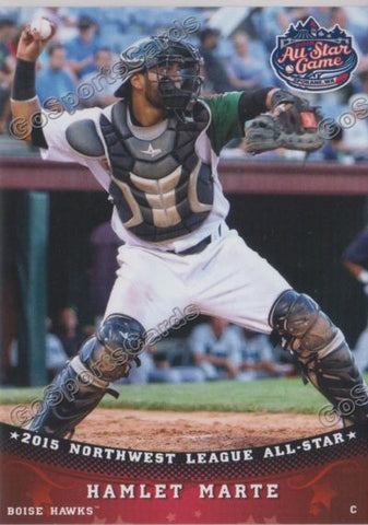 2015 Pioneer Northwest League All Star R Hamlet Marte