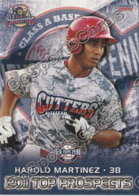 2011 New York Penn League Top Prospects NYPL Harold Martinez