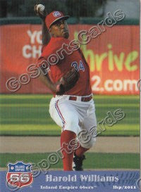 2011 Inland Empires 66ers Harold Williams