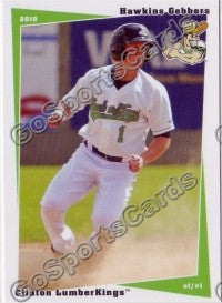 2010 Clinton LumberKings Update 2 Hawkins Gebbers