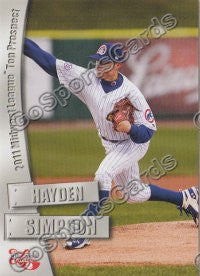2011 MidWest League Top Prospects Hayden Simpson