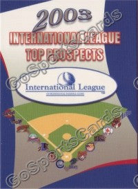 2003 International League Top Prospects Choice Header Card