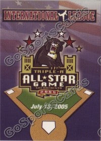 2005 International League All-Stars Choice Header Card